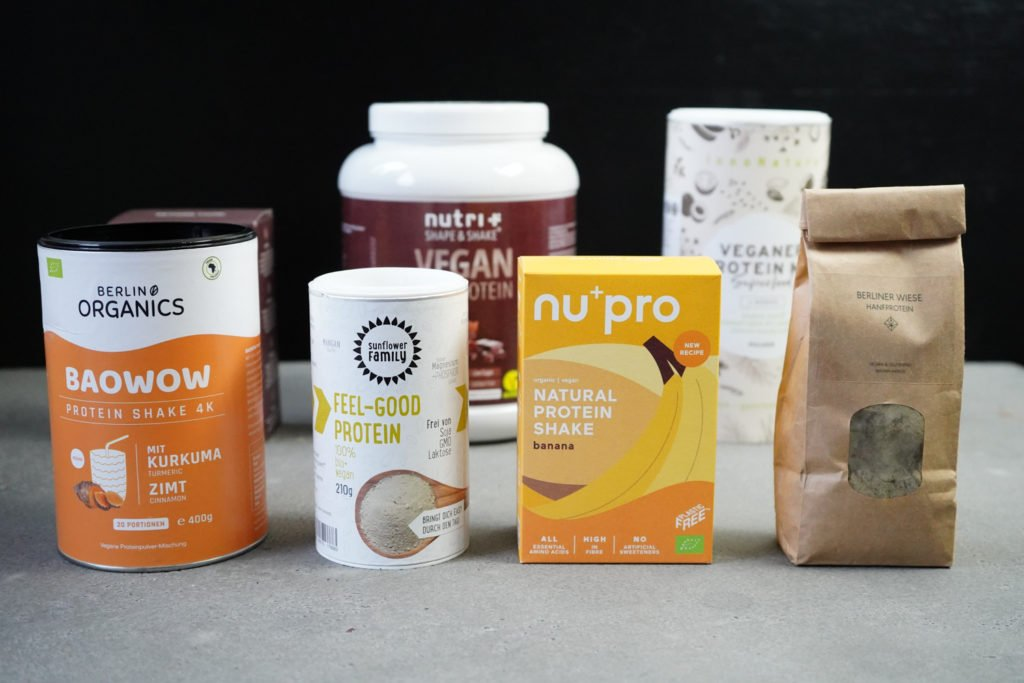 Vegane Proteinpulver