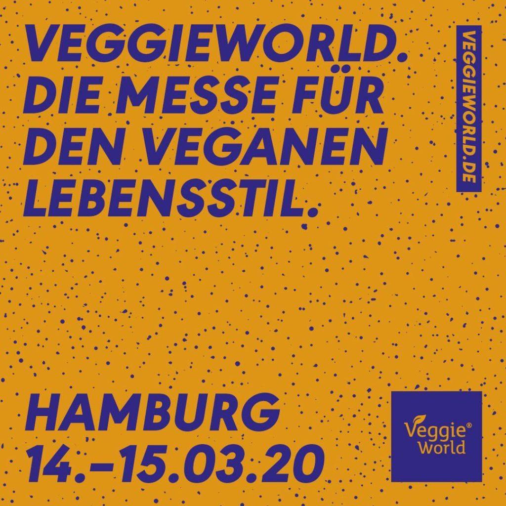 Die VeggieWorld - die vegane Messe - findet auch dieses Jahr wieder in Hamburg statt