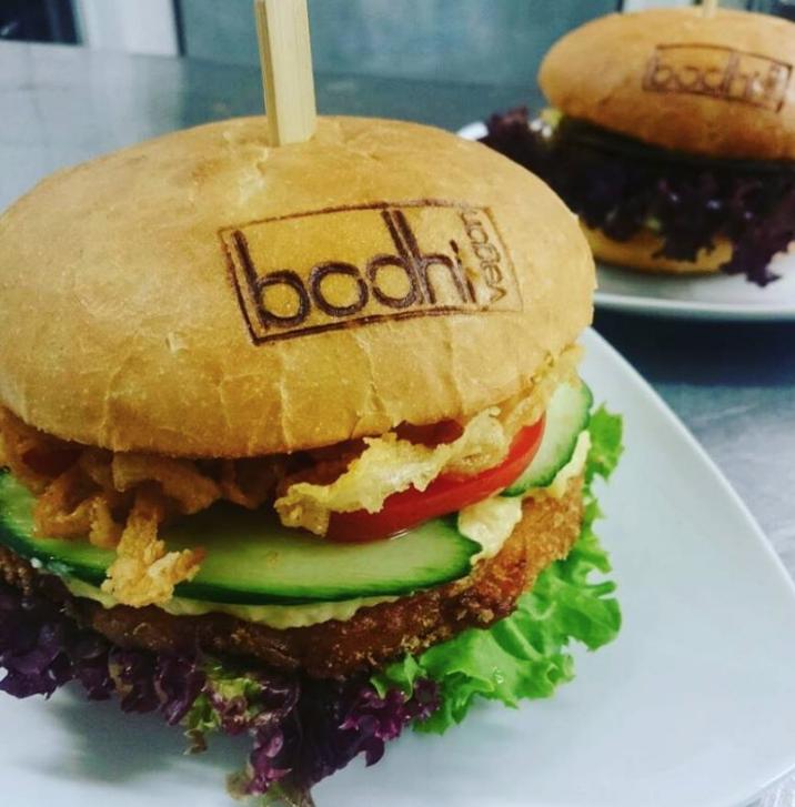 vegane burger essen im bodhi