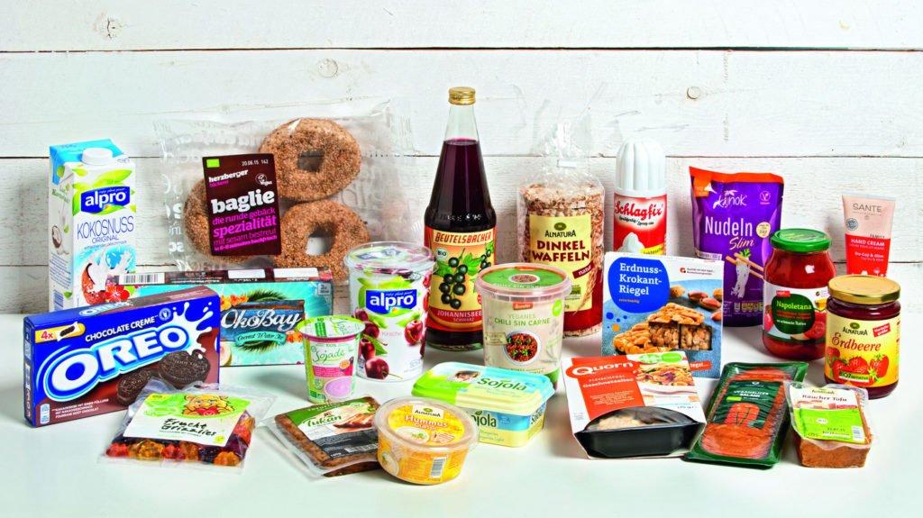 Vegane Produkte Supermarkt Tegut