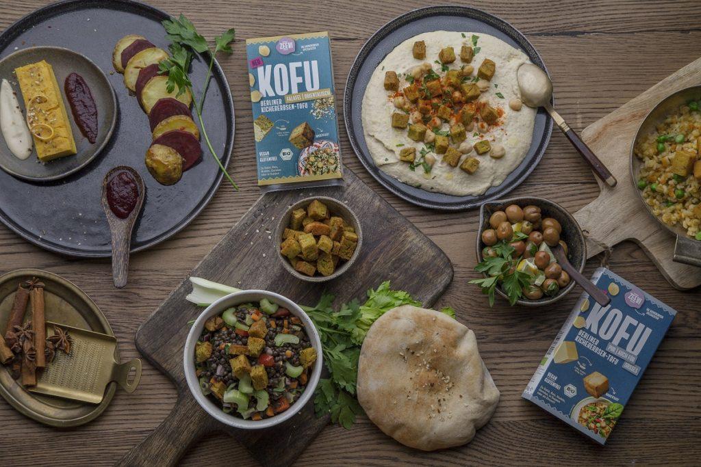 INTERVIEW MIT DER ZEEVI  Kofu – der Kichererbsentofu von Zeevi