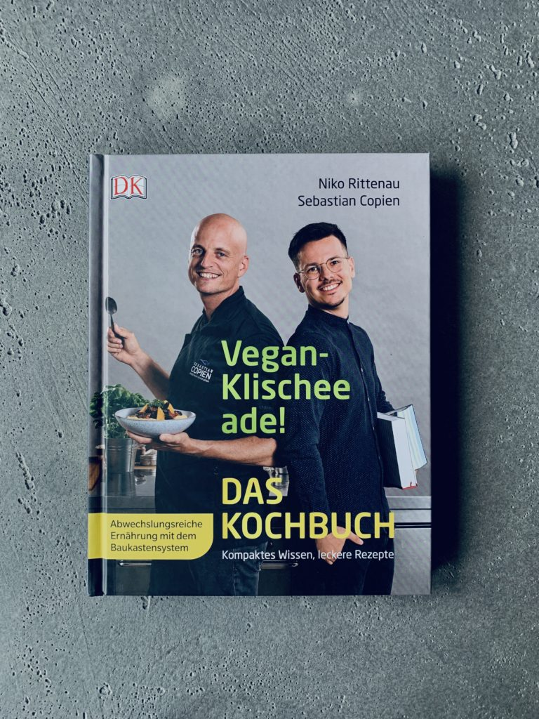 Das vegane Kochbuch zum Bestseller-Sachbuch Vegan-Klischee ade!