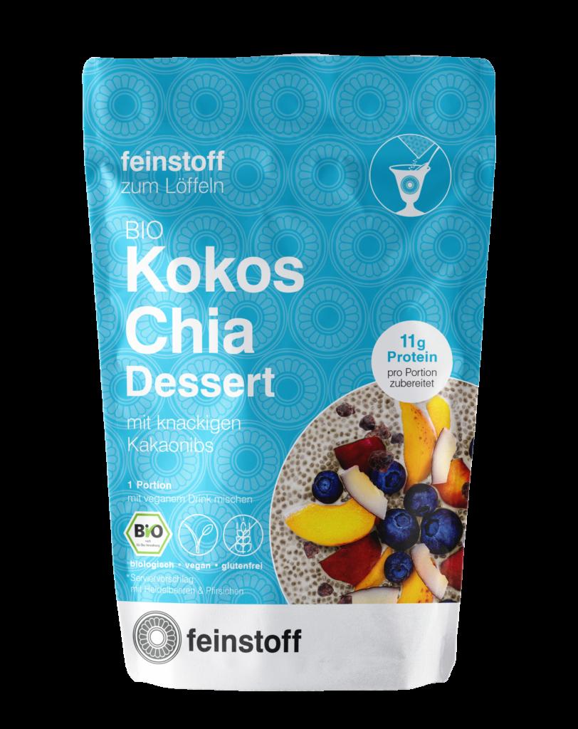 Kokos Chia Dessert bio von Feinstoff