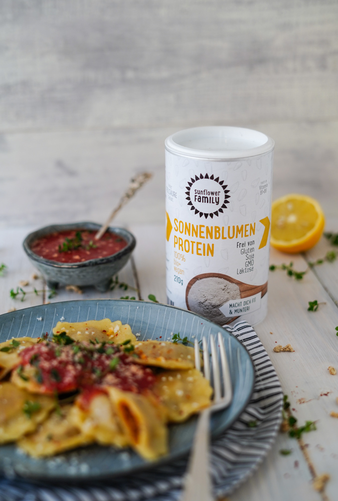 Sonnenblumen Protein