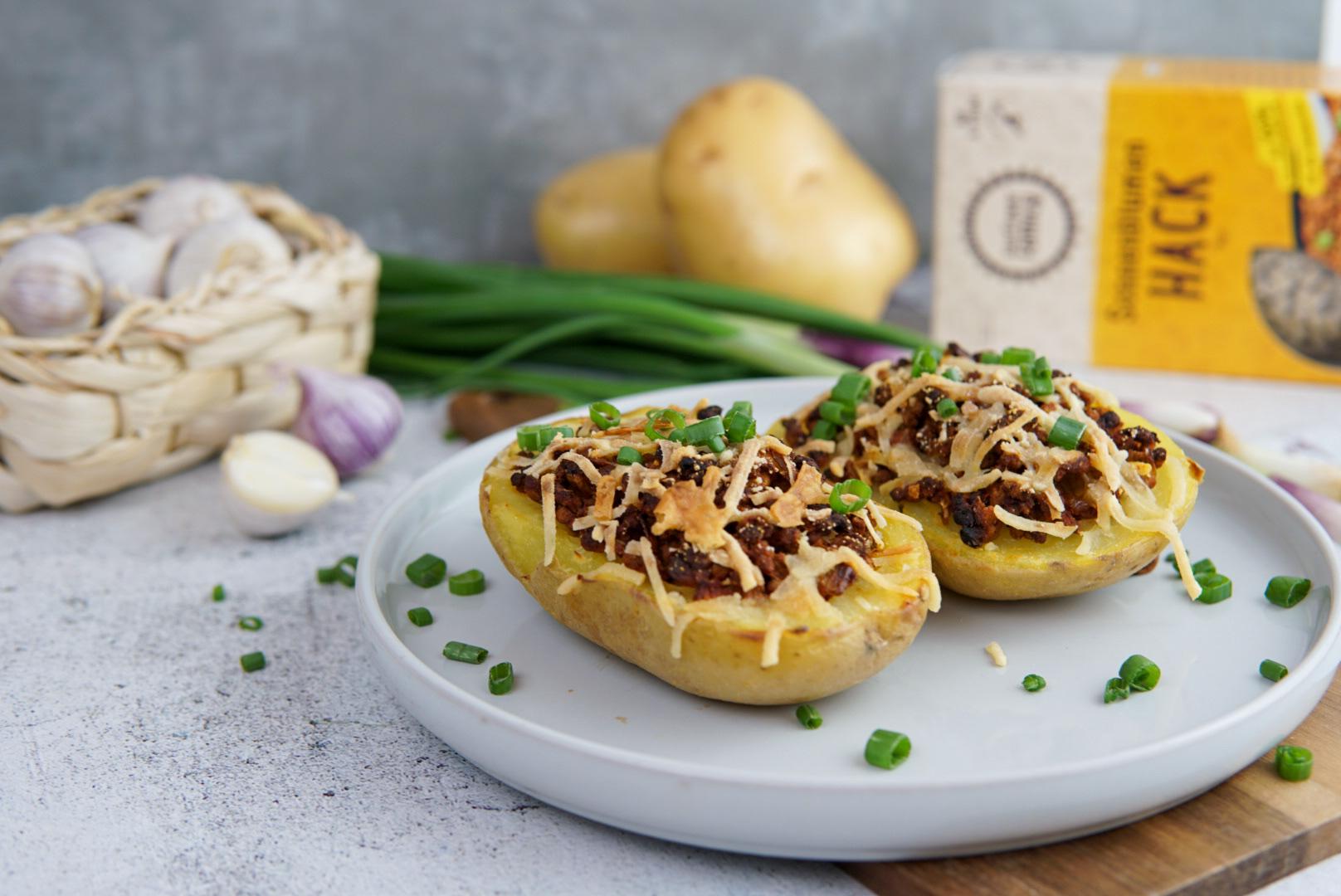Hack Kartoffeln vegan