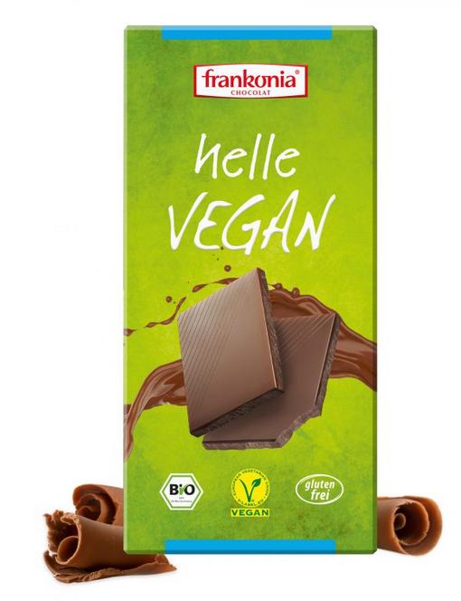 vegane Schokolade von Frankonia