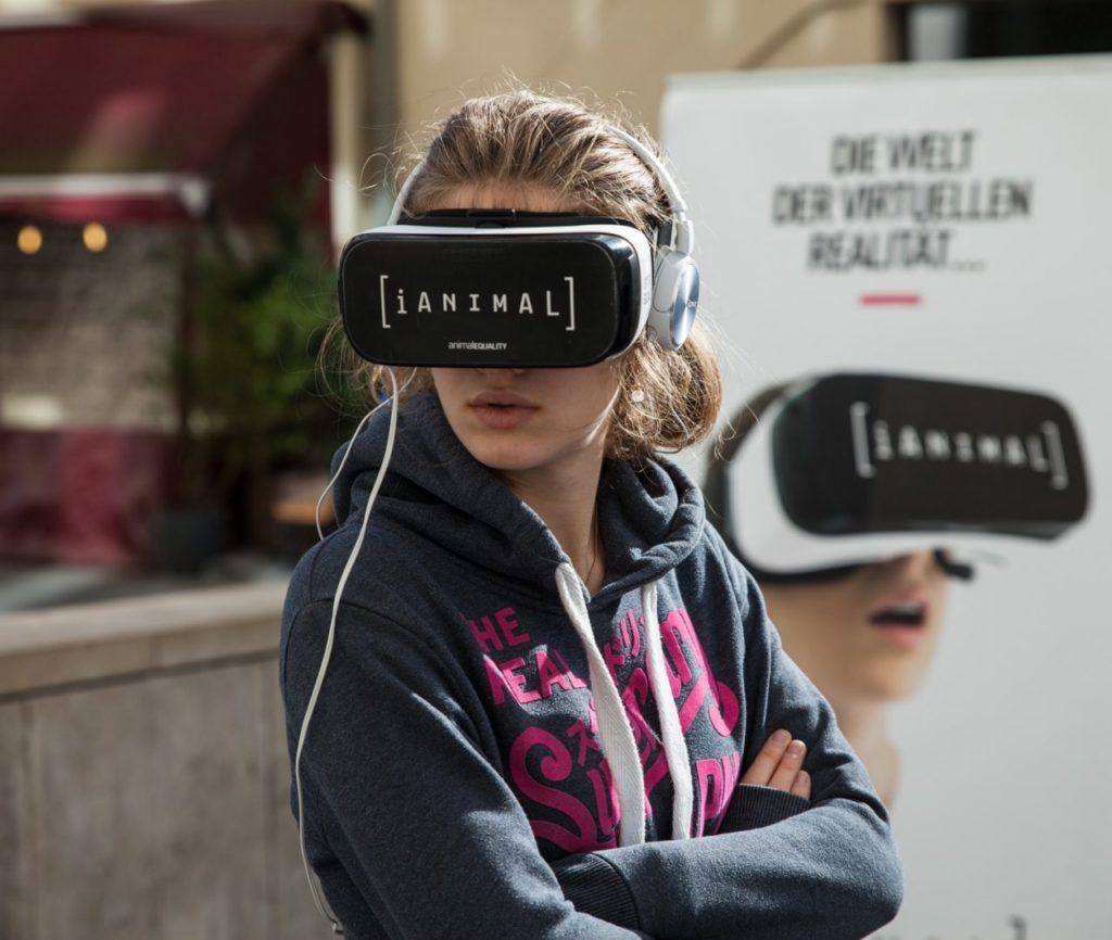 iAnimal Virtual Reality 360° Video