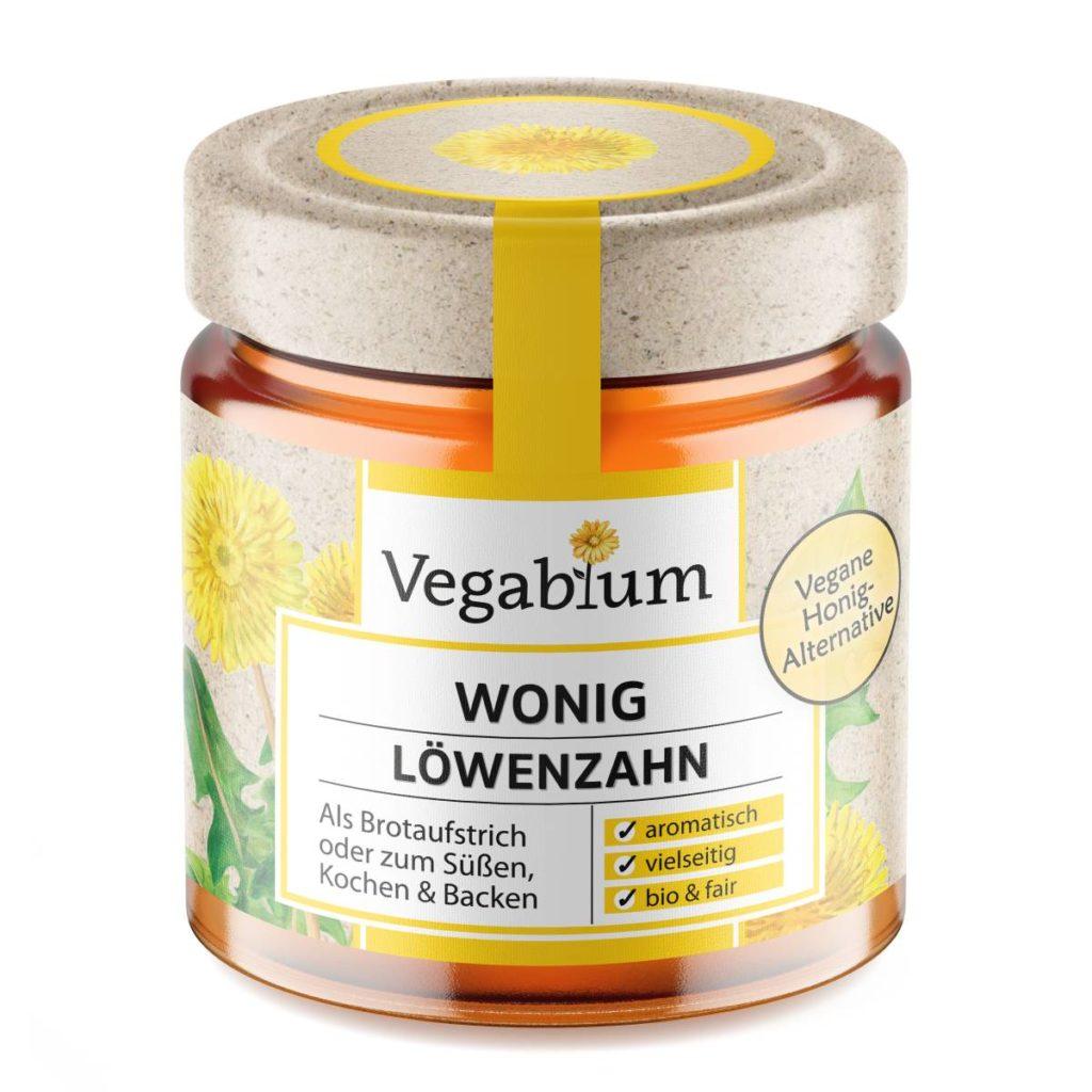 Veganer Honig = Wonig aus Löwenzahn