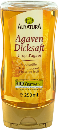 Vegane Honigalternative Agavendicksaft von Alnatura