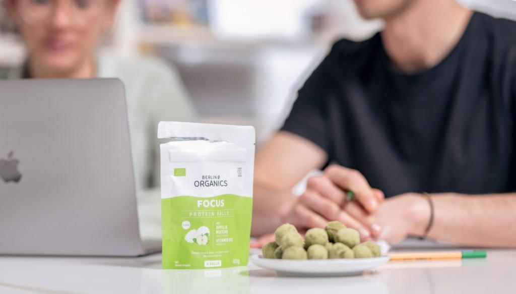 Berlin Organics vegane Proteinballs