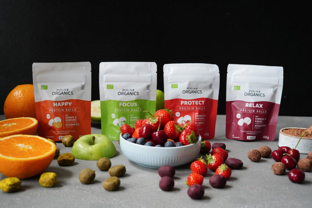 vegane Protein Balls