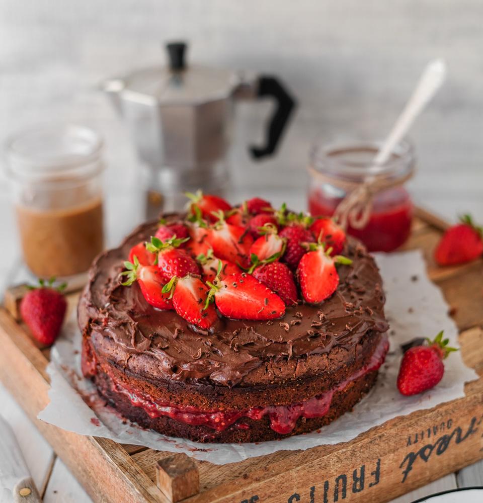 Schokoladenkuchen vegan