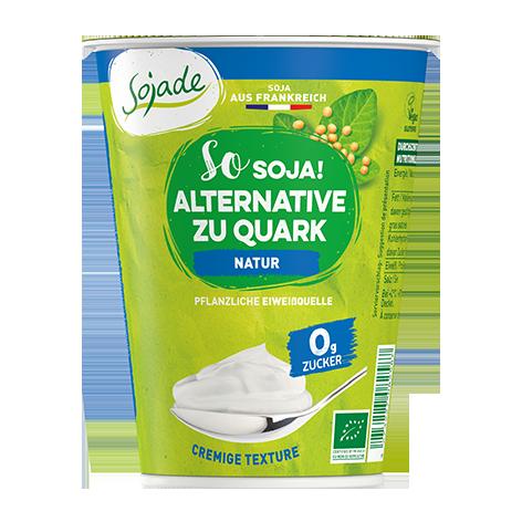 Veganer Quark Soja Alternative von Sojade