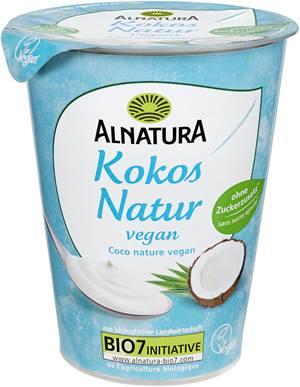 vegane Joghurtalternative mit Kokosmilch