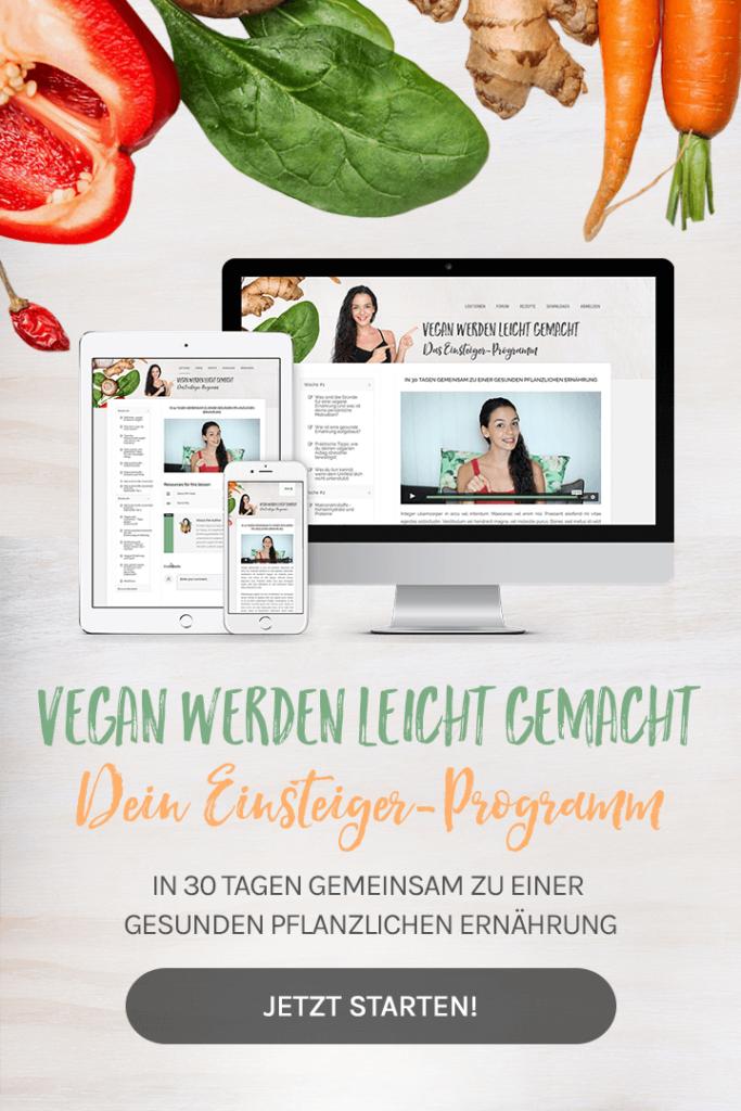 Online Kurs vegan gesund