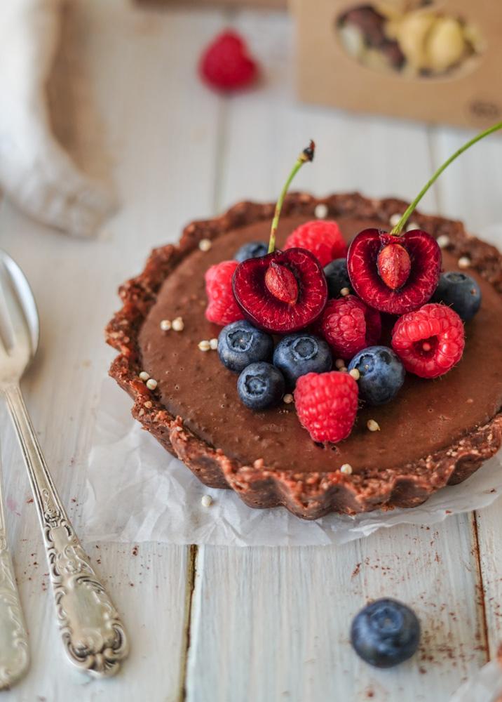 Roh Veganer Kuchen