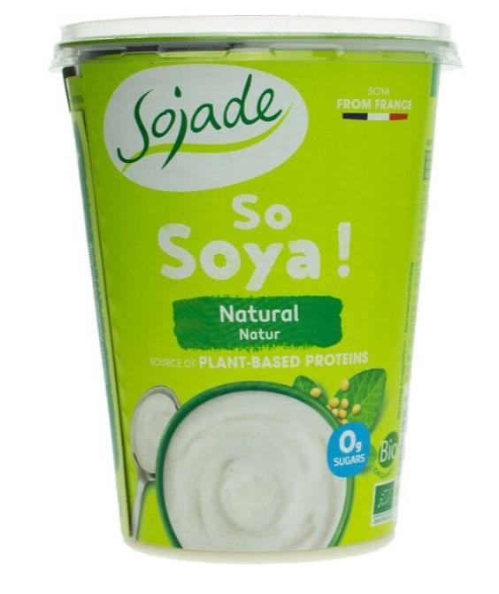 Joghurtalternative aus Sojabohnen von Sojade