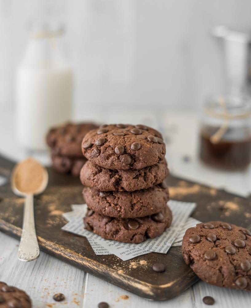 Vegane Schokocookies