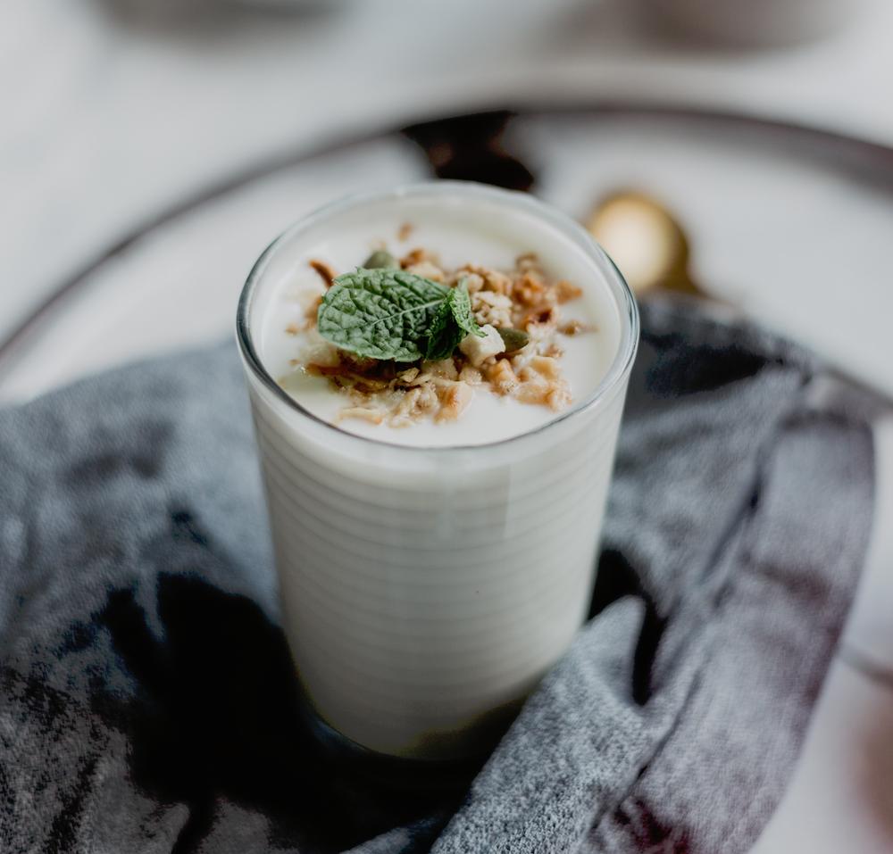 veganen joghurt herstellen rezept