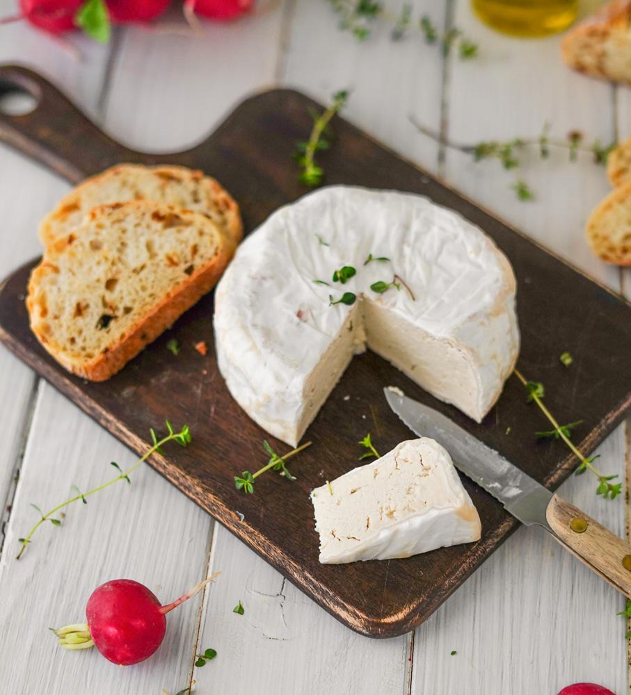 Fermentierter Käse vegan