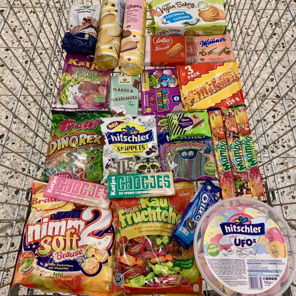 Vegane Produkte Globus Süssigkeiten