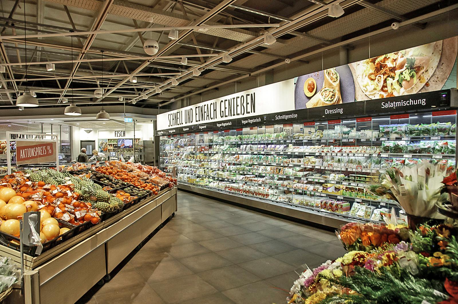 Vegan einkaufen Rewe