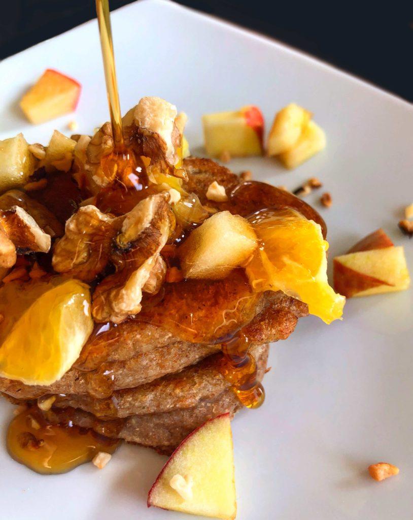 proteinreiche vegane_Pancakes