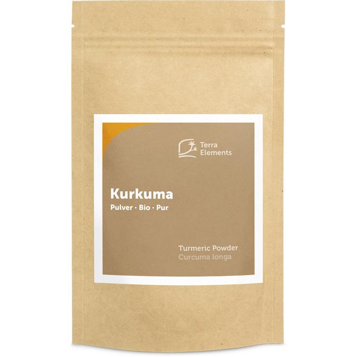 Bio-Kurkuma-Pulver von Terra Elements