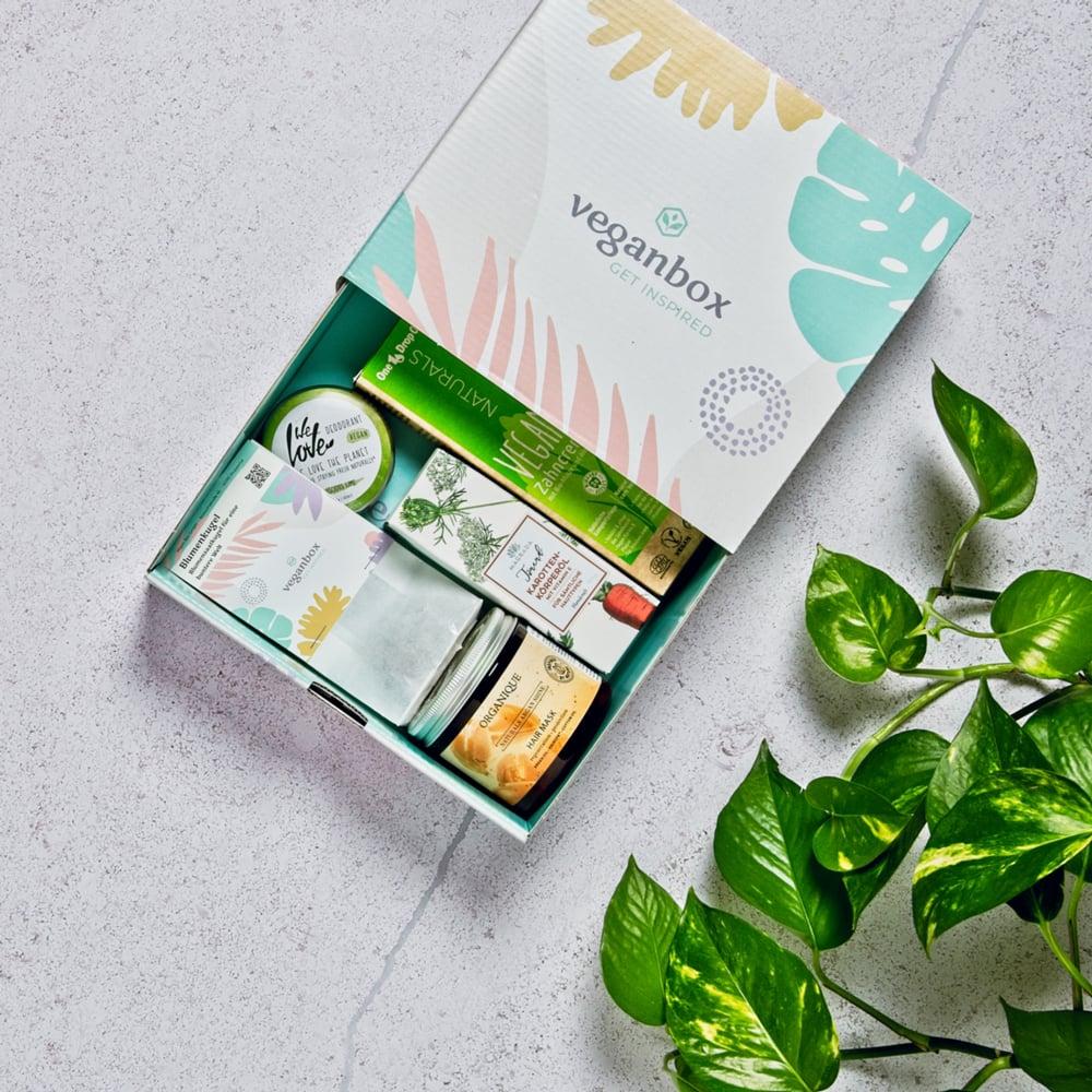 vegane Geschenkbox von veganbox beautybox