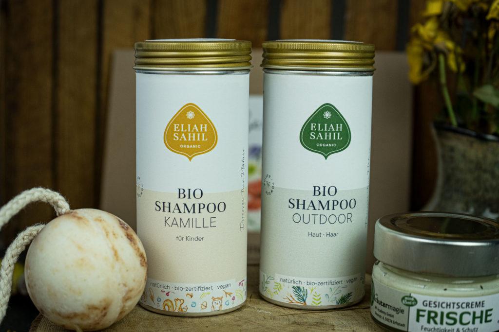 Produkte von Eliah Sahil nachhaltig einkaufen grüne Bude