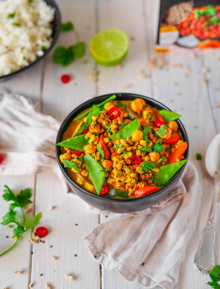 Curry Rezept vegan