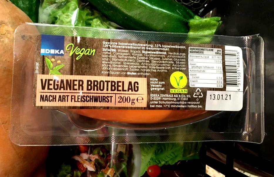 veganer brotbelag vegane wurstalternative edeka