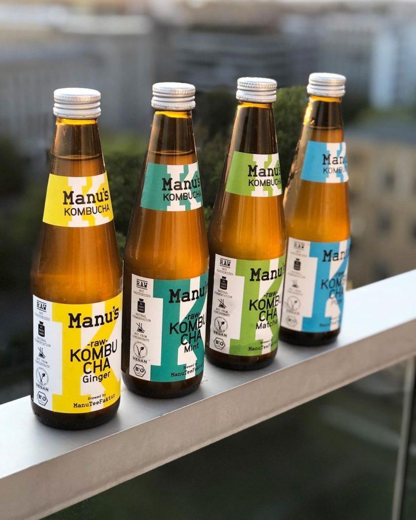 Manu's Home Brew fertige Kombucha