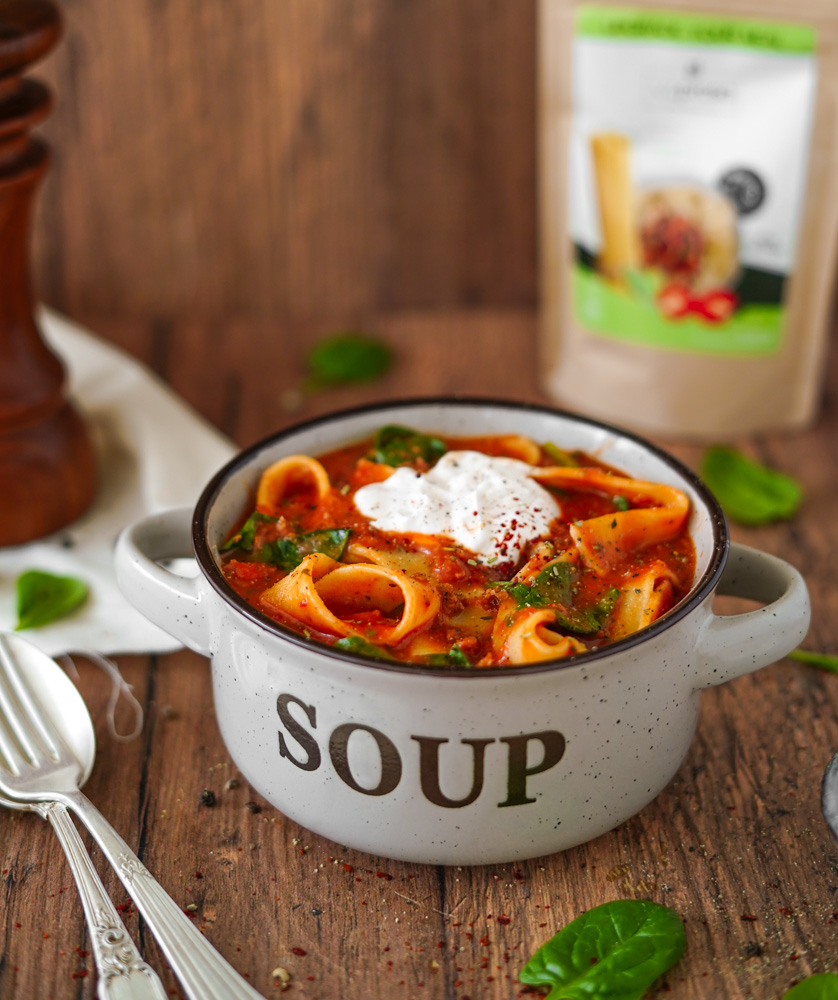 Vegane Lasagne Suppe
