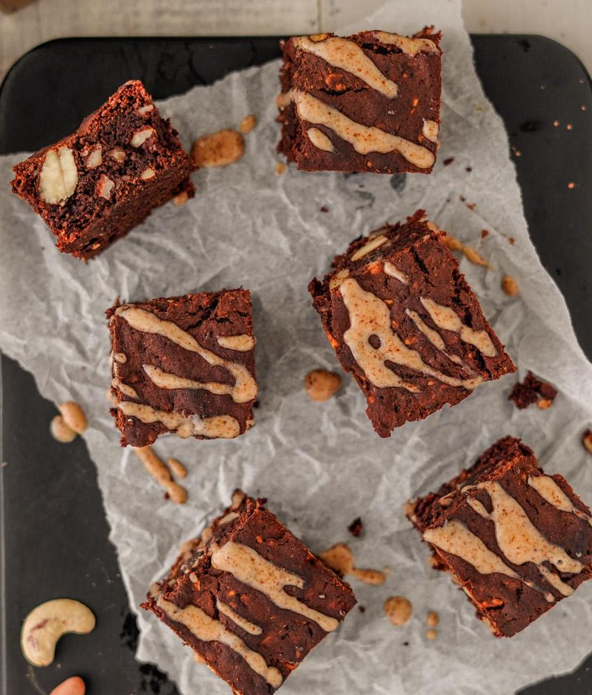Vegane Brownies backen