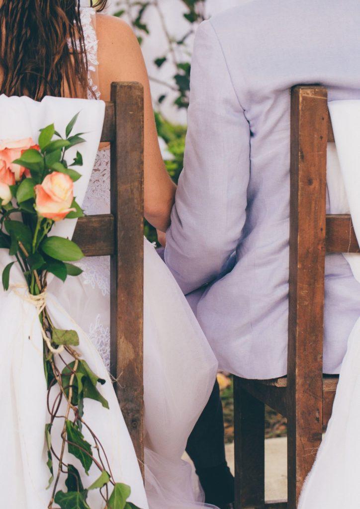 Vegane Hochzeit