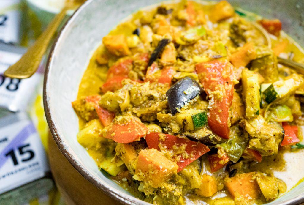 Indisches Curry mit Garam Masala Paste selber machen