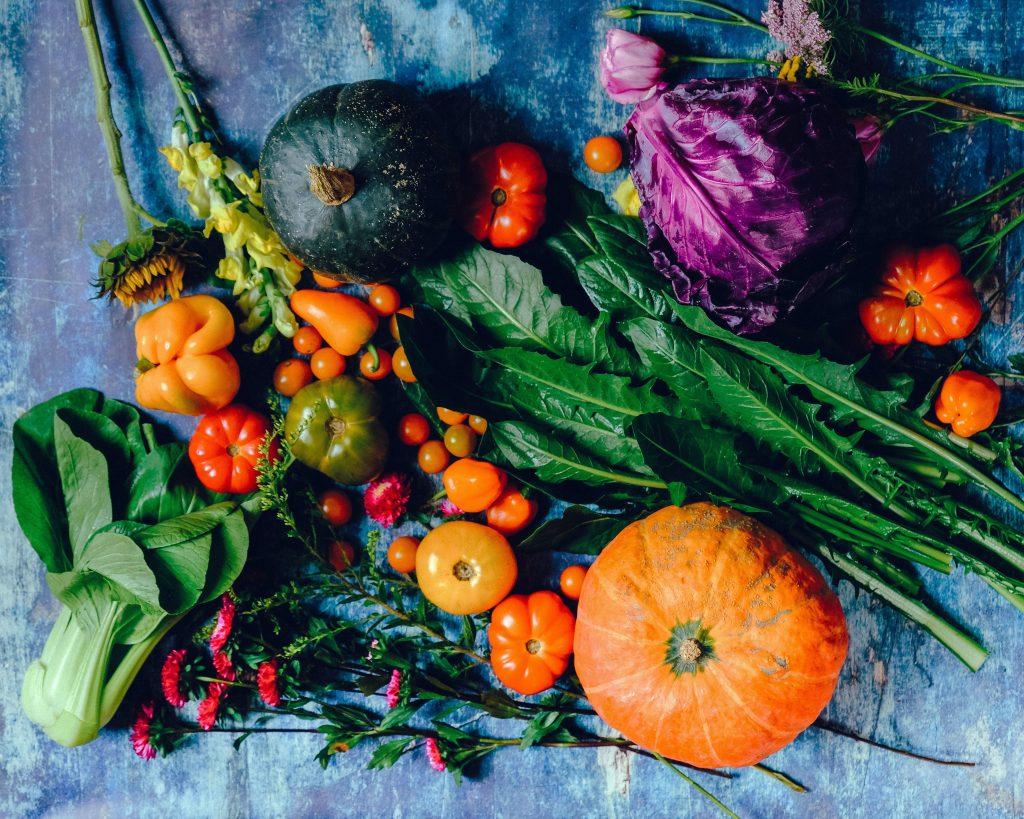 Regionale saisonale Lebensmittel Superregios Superfoods