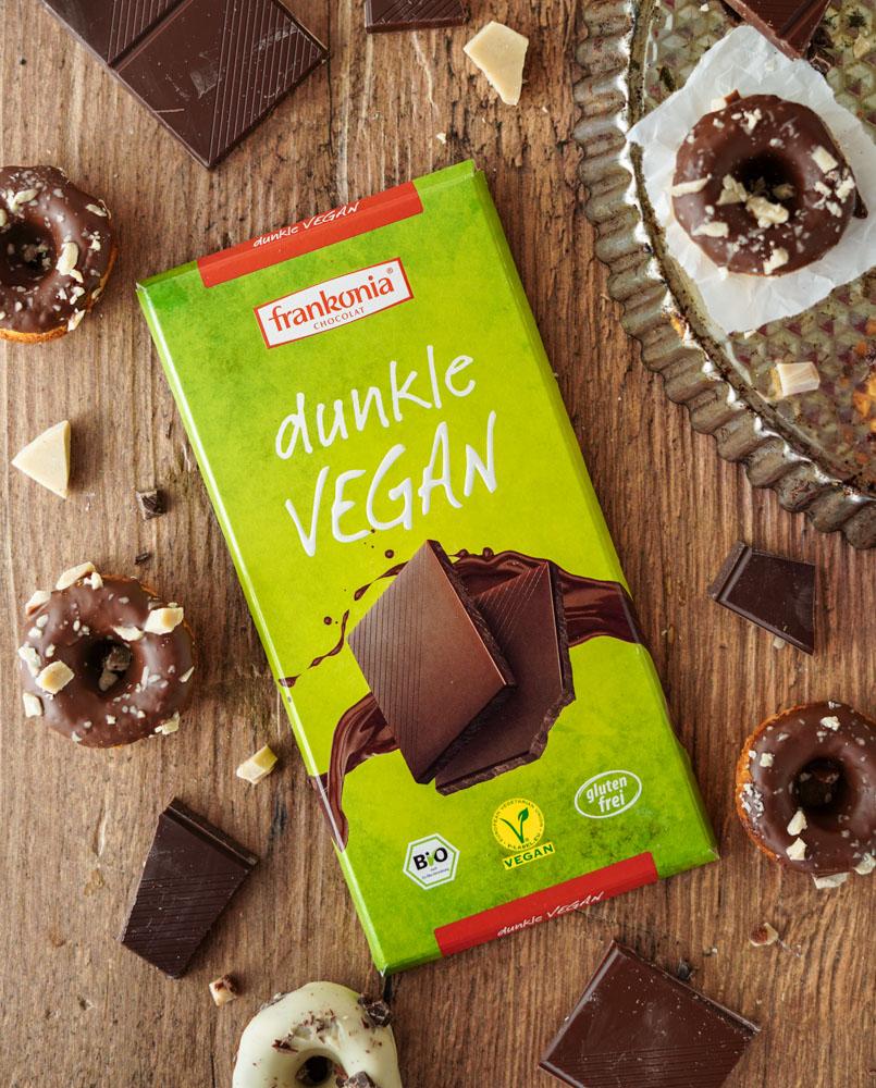 vegan backen Schokolade