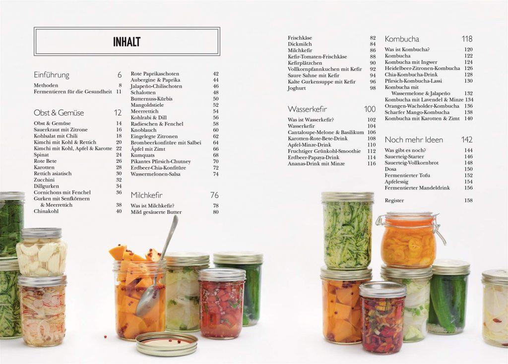 """""""Fermentieren: Für einen gesunden Darm. Über 60 Rezepte für Gemüse, Milchprodukte und Getränken"""" von Fern Green*"""