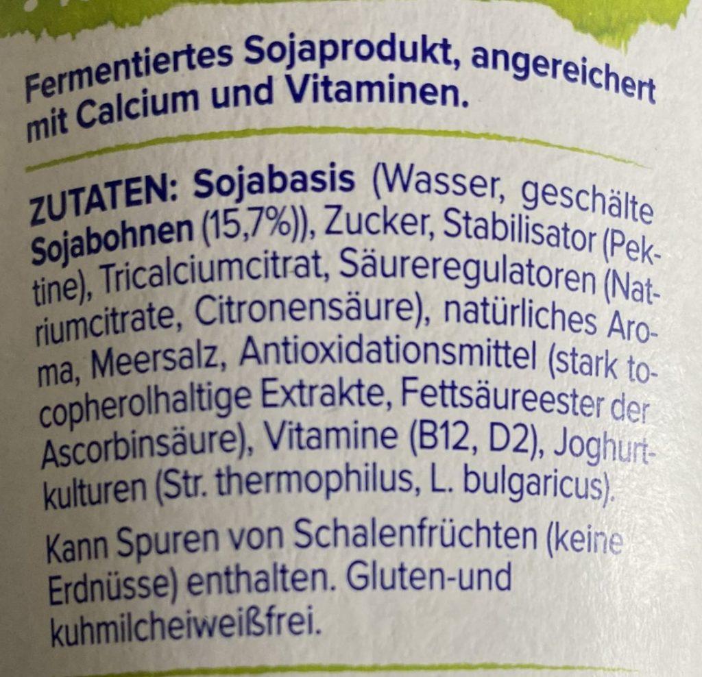 Veganer Jogurt